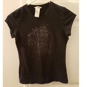 Guess black fairy tshirt S